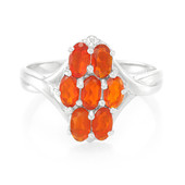 Jalisco Imperial Fire Opal Silver Ring