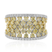 14K SI Yellow Diamond Gold Ring (CIRARI)
