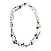 Mother of Pearl Silver Necklace (Dallas Prince Designs)