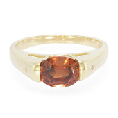 9K Mashewa Orange Zircon Gold Ring