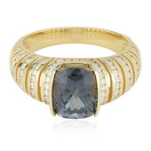 18K Grey Spinel Gold Ring (de Melo)