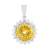 9K Imperial citrine Gold Pendant (PHANTASIA)