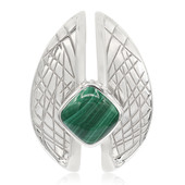 Malachite Silver Pendant (MONOSONO COLLECTION)