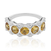 Citrine Silver Ring (Remy Rotenier)
