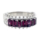 Rhodolite Silver Ring (Dallas Prince Designs)