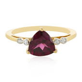 9K Royal Purple Garnet Gold Ring (Odyssey by Hannah)