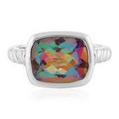 Northern Lights Quartz Silver Ring
