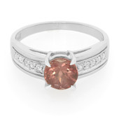 Red Apatite Silver Ring (Cavill)