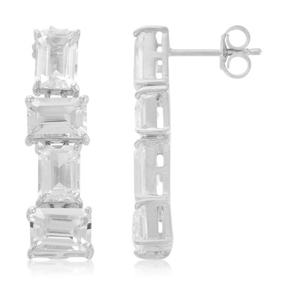 Danburite Silver Earrings