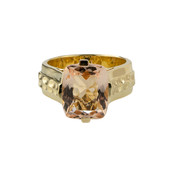 14K AAA Morganite Gold Ring (de Melo)