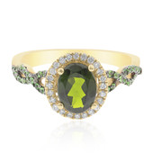 14K Russian Diopside Gold Ring (CIRARI)