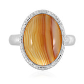 Agate Silver Ring