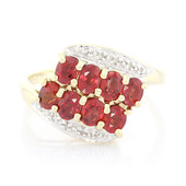 14K Malawi Ruby Gold Ring