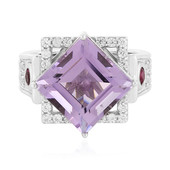 Rose de France Amethyst Silver Ring (Memories by Vincent)