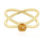 18K AAA Imperial Topaz Gold Ring (AMAYANI)