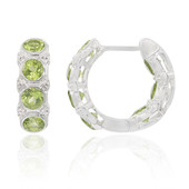 Peridot Silver Earrings (Remy Rotenier)