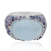 9K Chalcedony Gold Ring