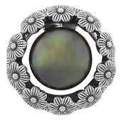 Tahitian Pearl Silver Pendant (MONOSONO COLLECTION)