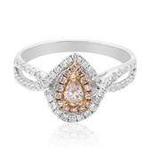 18K Pink Diamond Gold Ring (CIRARI)