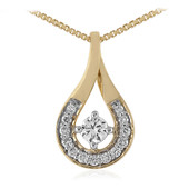 18K SI Diamond Gold Necklace (adamantes [!])