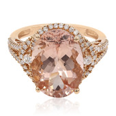 14K Morganite Gold Ring