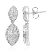 14K SI Diamond Gold Earrings (CIRARI)