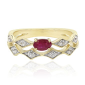 9K Madagascar Ruby Gold Ring