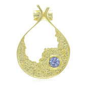 Unheated Tanzanite Silver Pendant (MONOSONO COLLECTION)