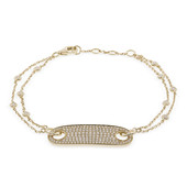 18K SI Diamond Gold Bracelet (CIRARI)