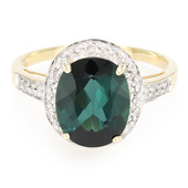 9K Pirineu Tourmaline Gold Ring