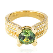 18K Demantoid Gold Ring (de Melo)