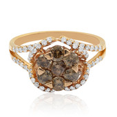 14K Chocolate Diamond Gold Ring (CIRARI)