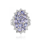 Tanzanite Silver Ring (Dallas Prince Designs)