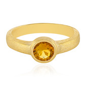 Citrine Silver Ring (MONOSONO COLLECTION)