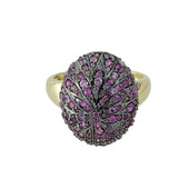 9K Pink Sapphire Gold Ring