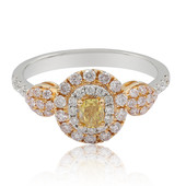 18K Orange Diamond Gold Ring (CIRARI)