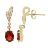 9K Cherry Opal Gold Earrings
