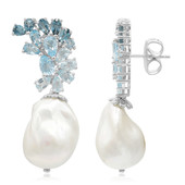 Freshwater pearl Silver Earrings (Dallas Prince Designs)