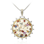 Welo Opal Silver Necklace (Dallas Prince Designs)