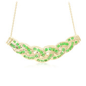 9K Tsavorite Gold Necklace