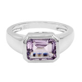 Rose de France Amethyst Silver Ring