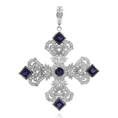 Iolite Silver Necklace (Dallas Prince Designs)
