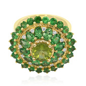 14K Peridot Gold Ring
