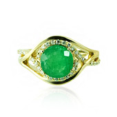 14K Socoto Emerald Gold Ring (de Melo)