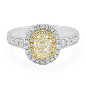 14K Yellow Diamond Gold Ring