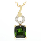 18K Santa Rosa Tourmaline Gold Necklace