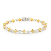 18K Yellow Diamond Gold Bracelet (CIRARI)