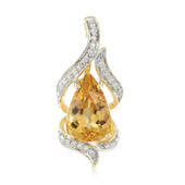 18K AAA Imperial Topaz Gold Necklace