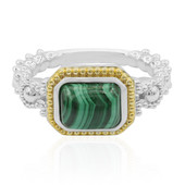 Malachite Silver Ring (Dallas Prince Designs)