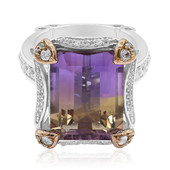 Ametrine Silver Ring (Dallas Prince Designs)